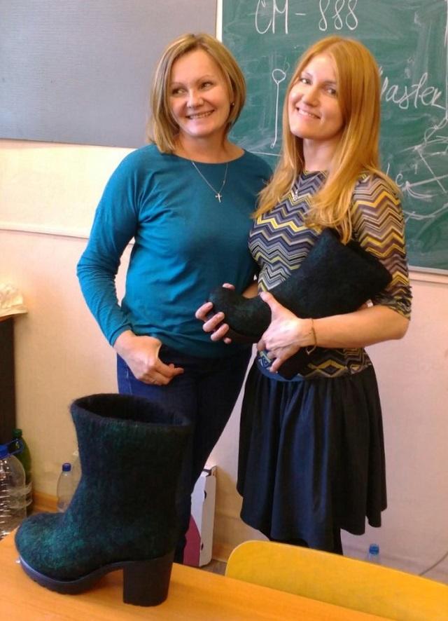 Брашовецкая и Сасина