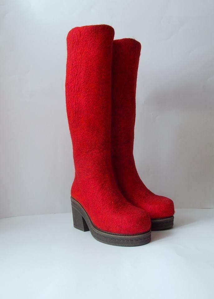 Валяная обувь- Мармаруни